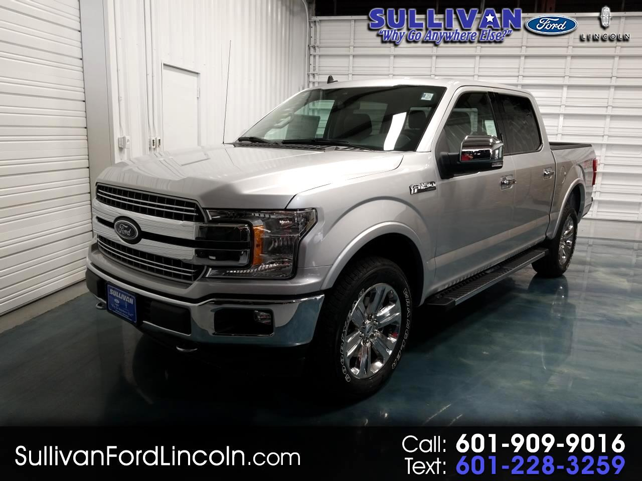 2019 Ford F-150 Lariat 4WD SuperCab 6.5' Box