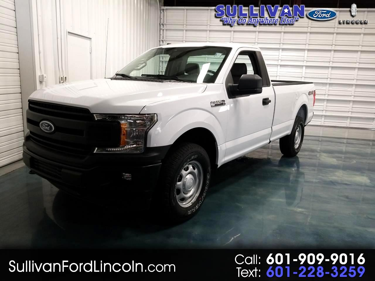 2019 Ford F-150 XL Reg. Cab Long Bed 4WD