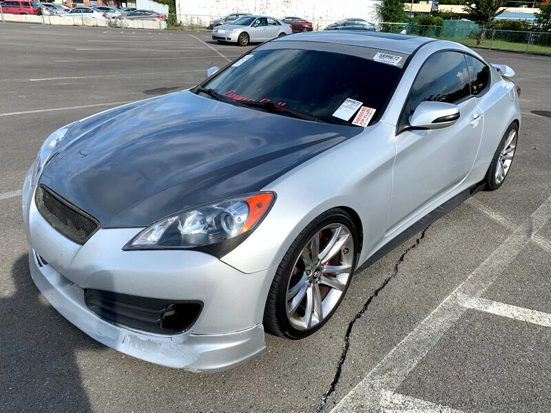 2012 Hyundai Genesis Coupe 3.8 Track Manual