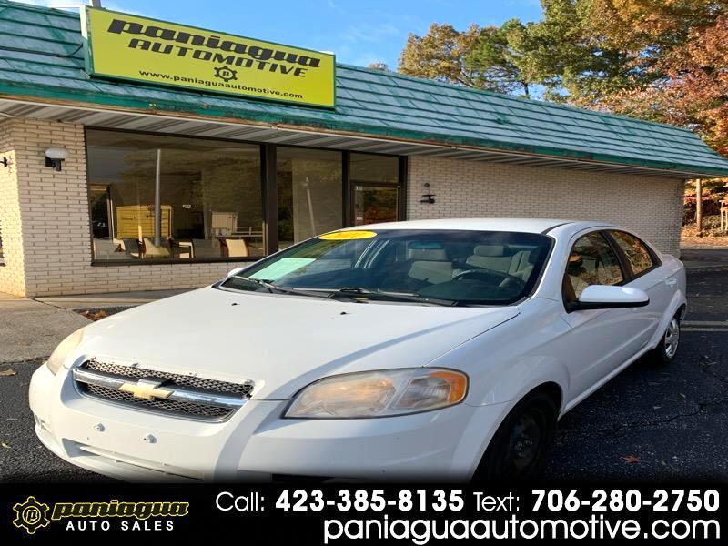 Chevrolet Aveo 2LT 4-Door 2011