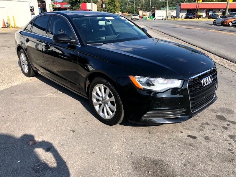 2014 Audi A6 2.0T Premium Sedan FrontTrak Multitronic