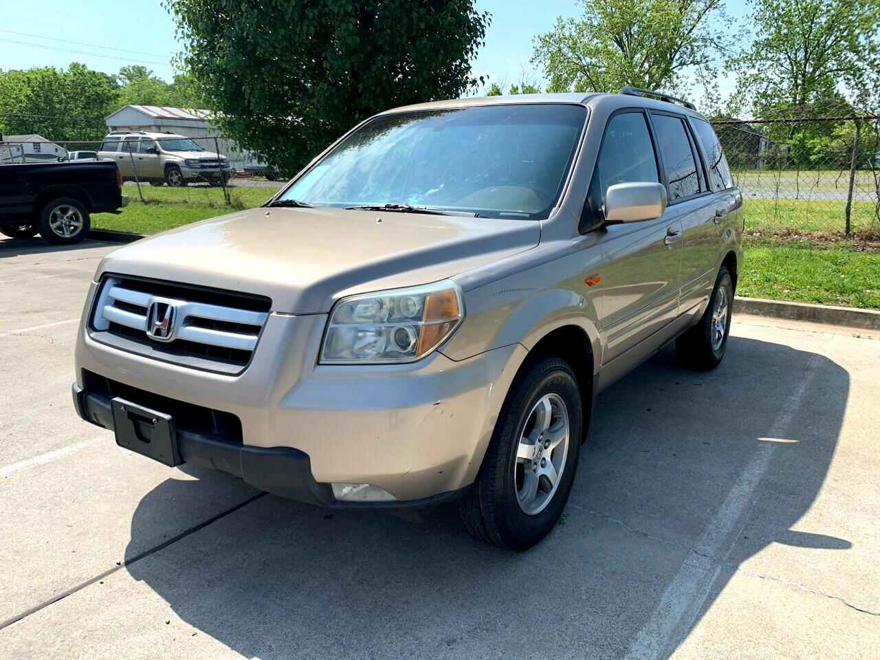Honda Pilot EX w/ Leather and DVD 2006
