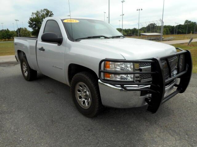 2012 Chevrolet Silverado 1500 Work Truck 4WD