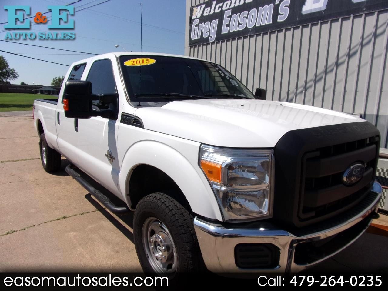 2015 Ford F-350 SD XL Crew Cab Long Bed 4WD