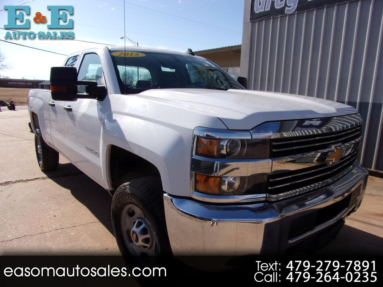 """Chevrolet Silverado 2500HD Built After Aug 14 4WD Double Cab 144.2"""" Work Truck 2015"""