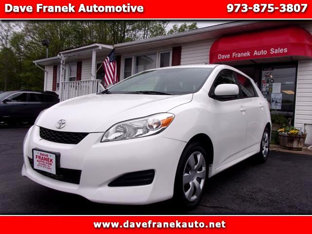 2013 Toyota Matrix L 5-Speed MT