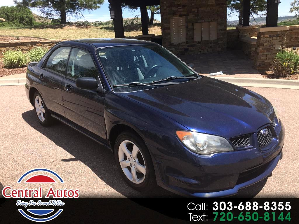 2006 Subaru Impreza Sedan 2.5 i Manual