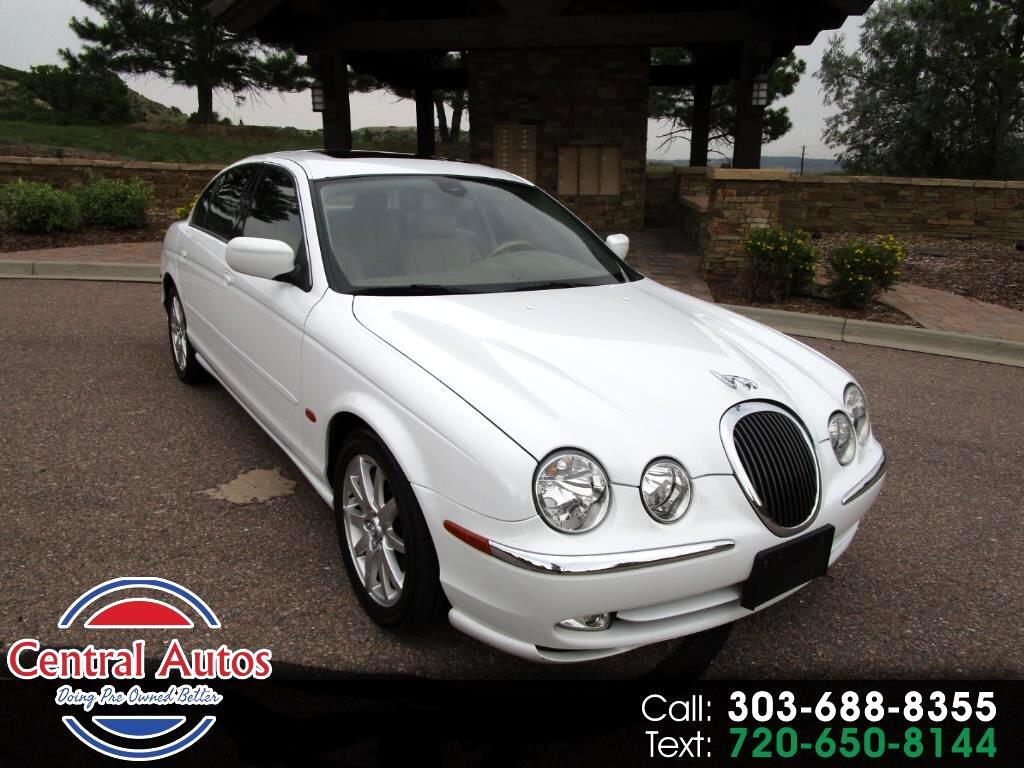 2000 Jaguar S-Type 4dr Sdn V8