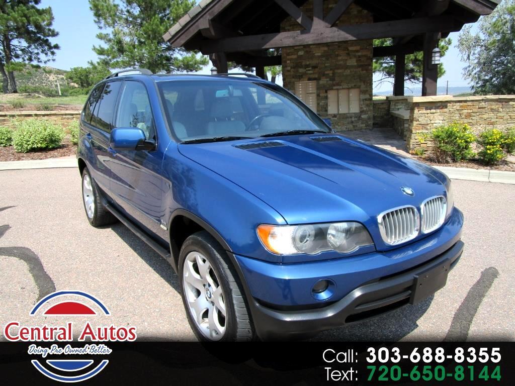 2001 BMW X5 X5 4dr AWD 4.4L