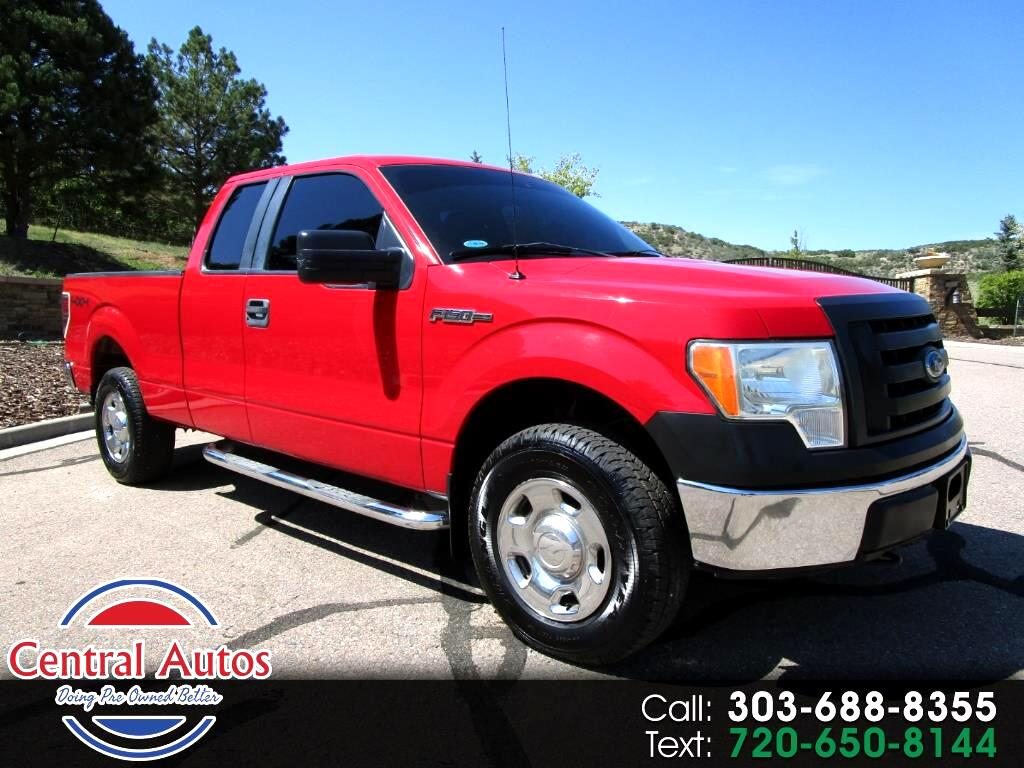 "2009 Ford F-150 4WD SuperCab 145"" XL"