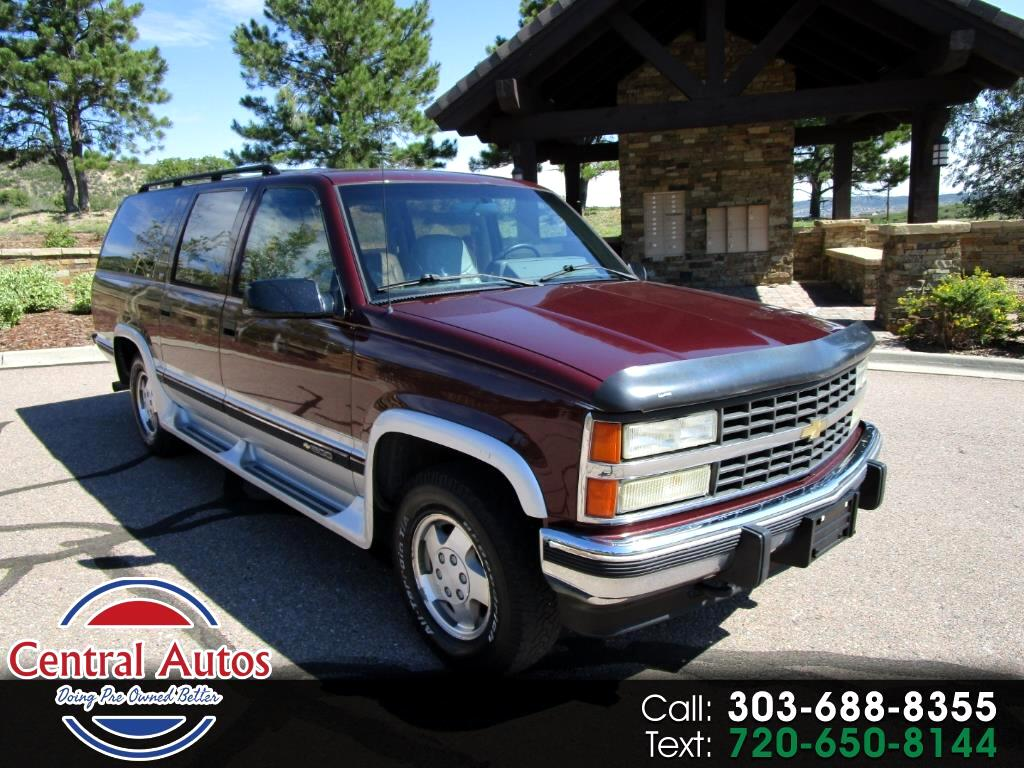 1993 Chevrolet Suburban 1500 4WD
