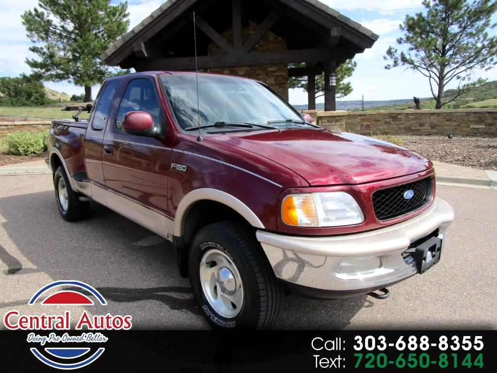 "1997 Ford F-150 Supercab Flareside 139"" 4WD Lariat"