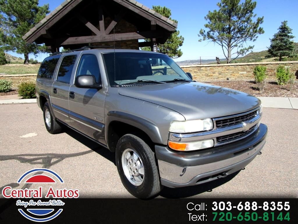 2000 Chevrolet Suburban 1500 4WD LS