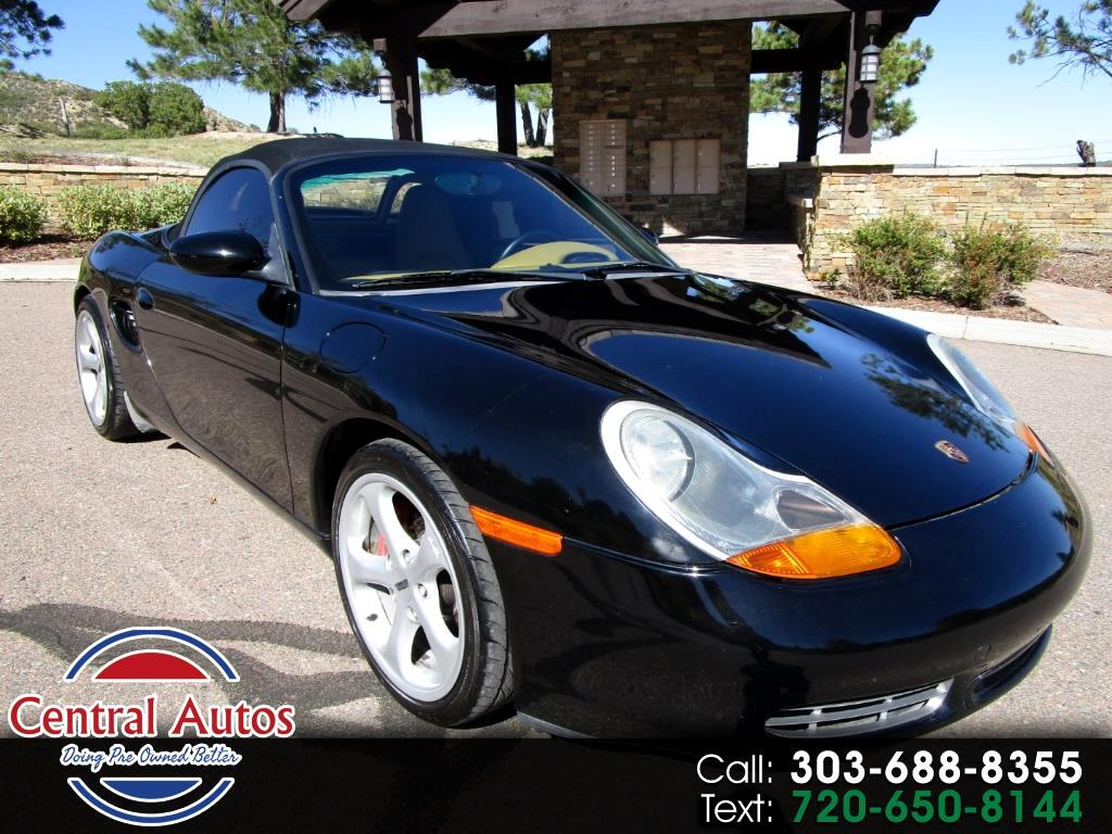 2001 Porsche Boxster 2dr Roadster S 6-Spd Manual