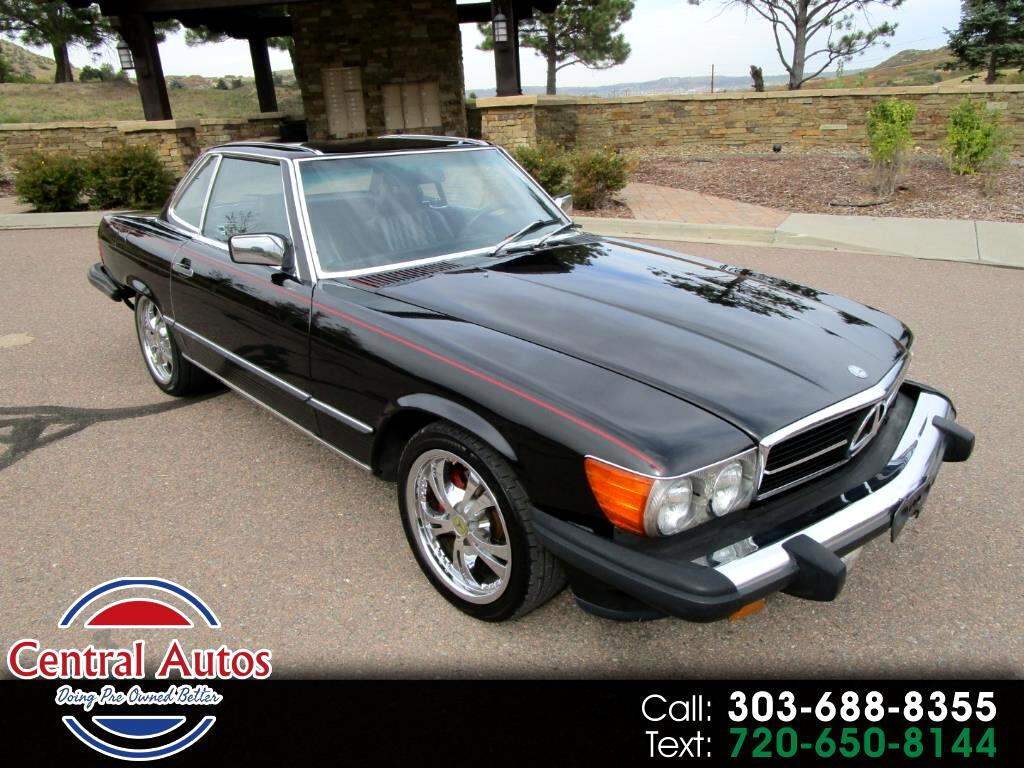 1986 Mercedes-Benz 560 Series 2dr Convertible 560SL