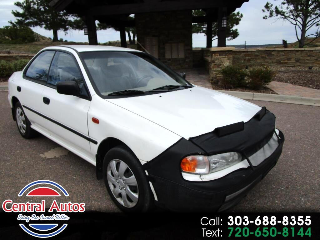 1995 Subaru Impreza Sedan 4dr Sedan Manual AWD L w/DL Equipment