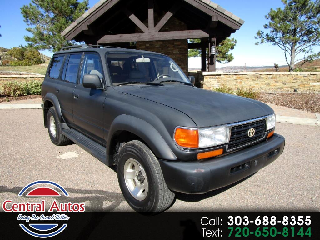 1997 Toyota Land Cruiser 4dr 4WD