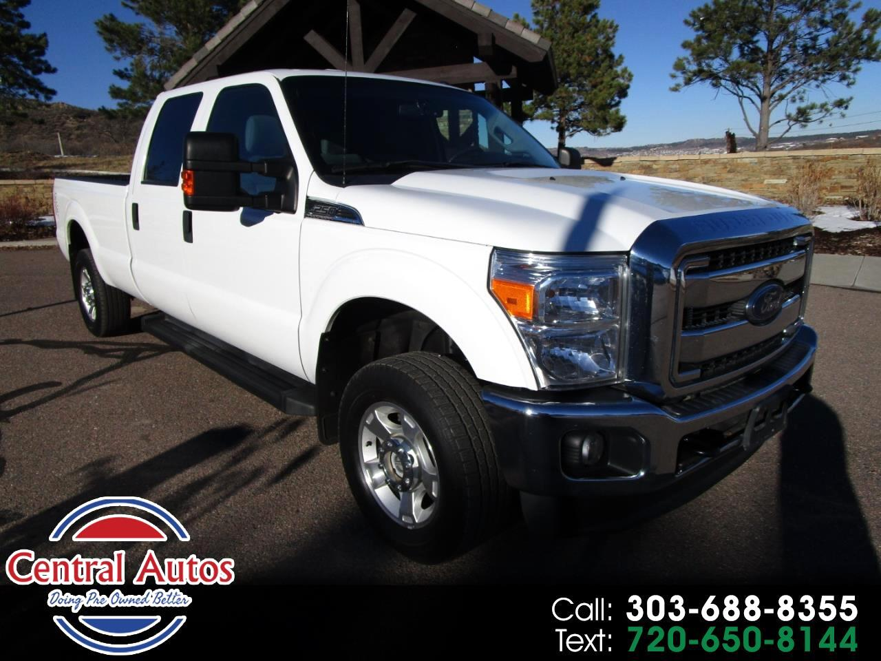 2014 Ford Super Duty F-250 SRW 4WD Crew Cab 156