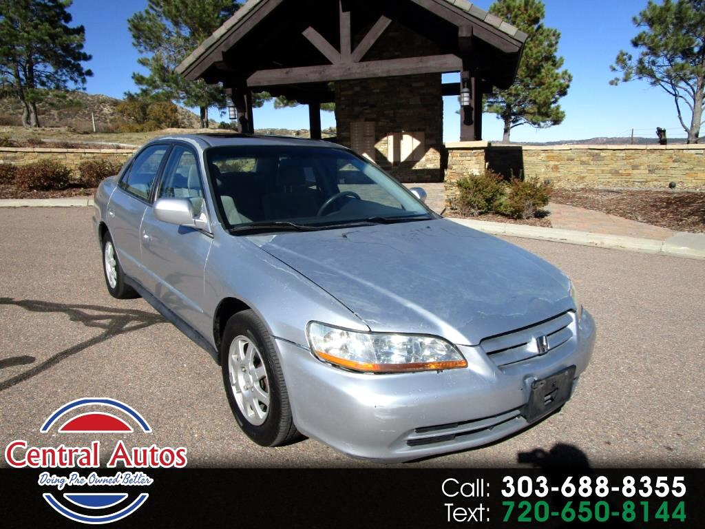 2002 Honda Accord Sdn SE Auto