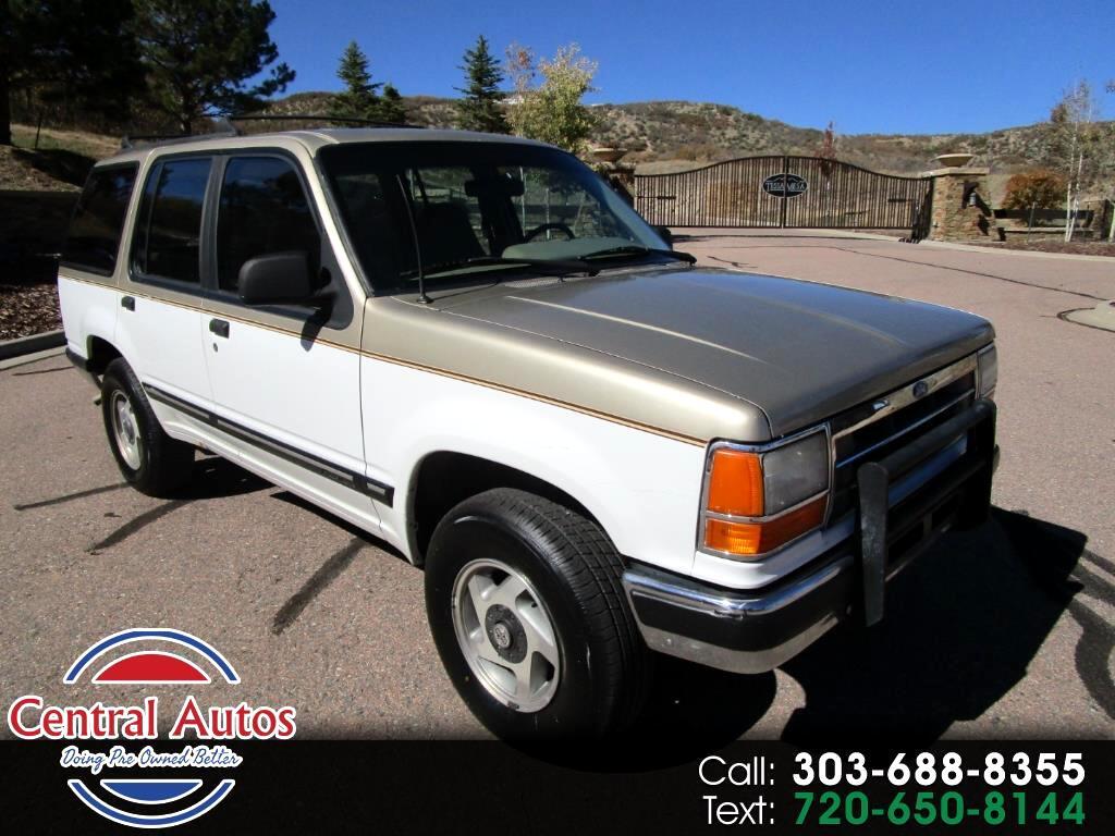 1991 Ford Explorer 4dr Wagon 4WD Eddie Bauer