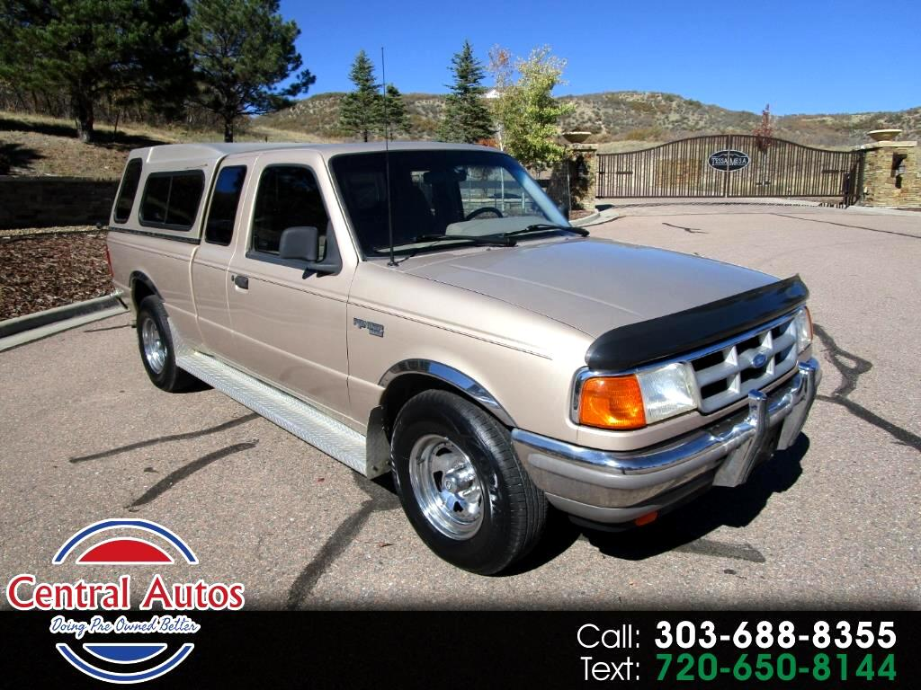 "1993 Ford Ranger Supercab Styleside 125"" WB XLT"