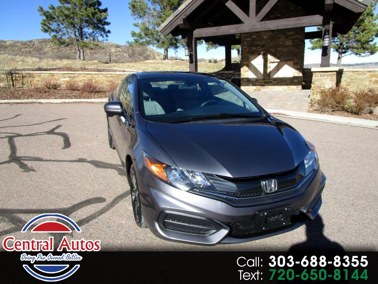 2015 Honda Civic Coupe 2dr CVT EX
