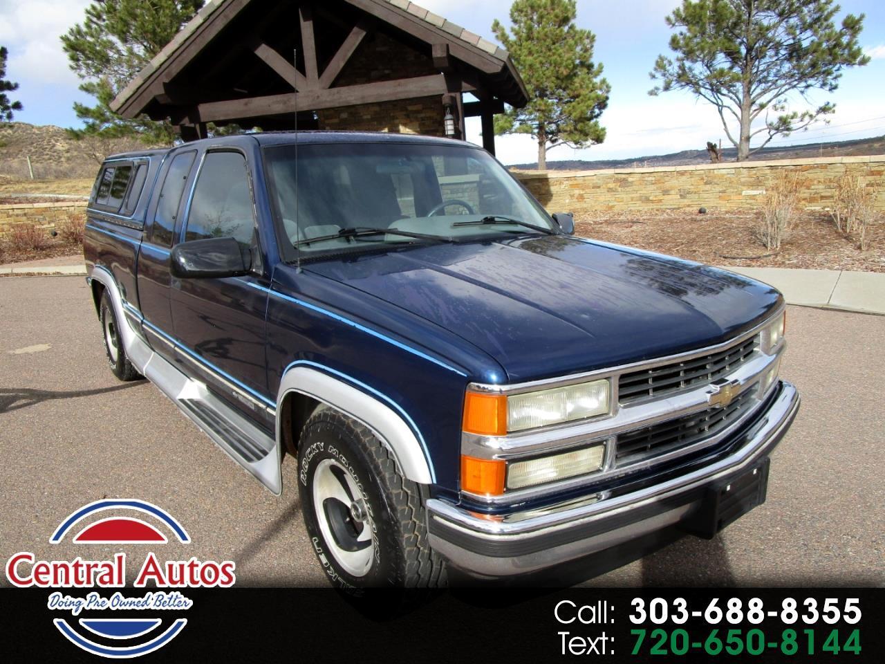"1995 Chevrolet C/K 1500 Ext Cab 141.5"" WB"