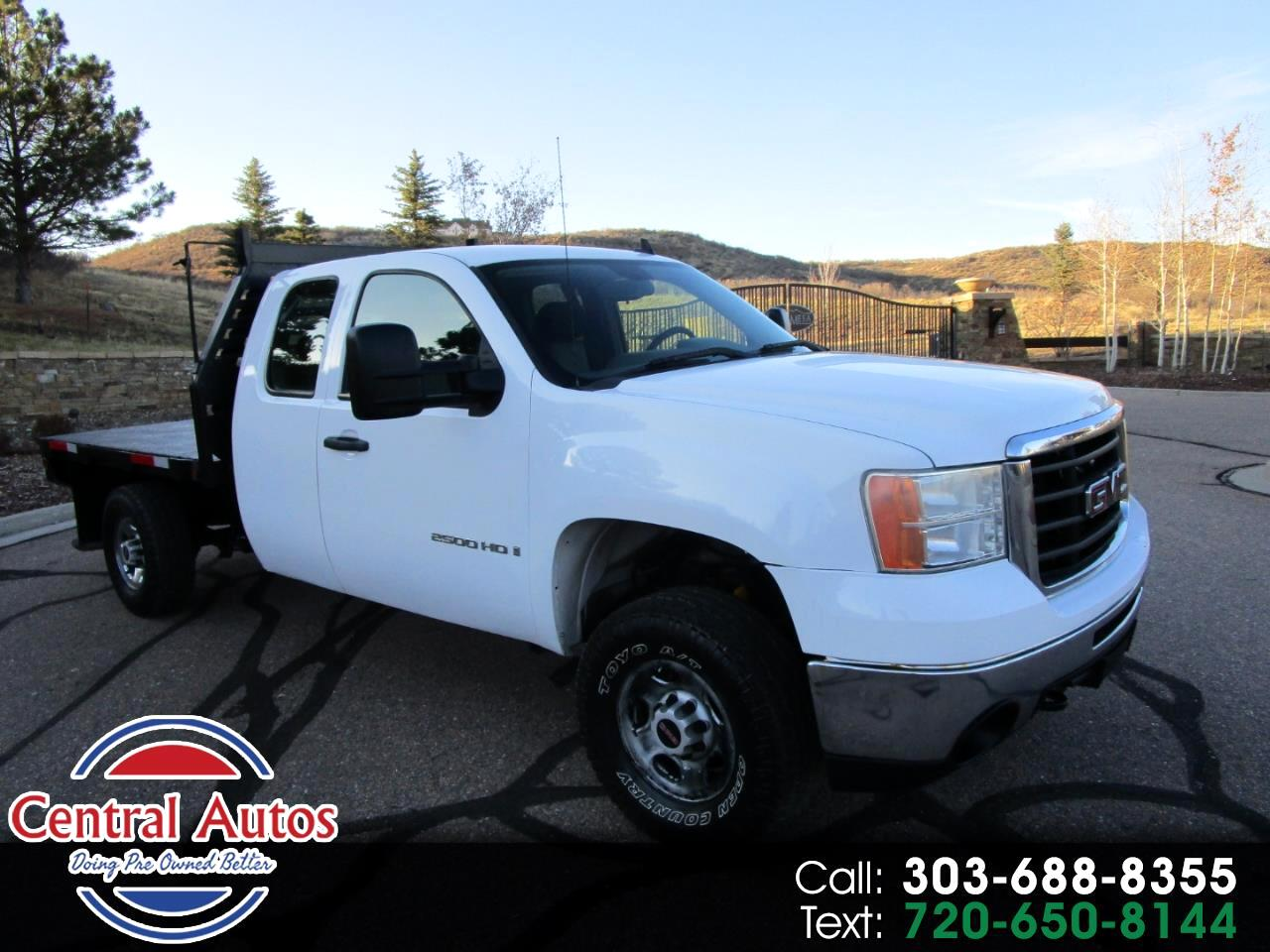 "2007 GMC Sierra 2500HD 4WD Ext Cab 157.5"" Work Truck"