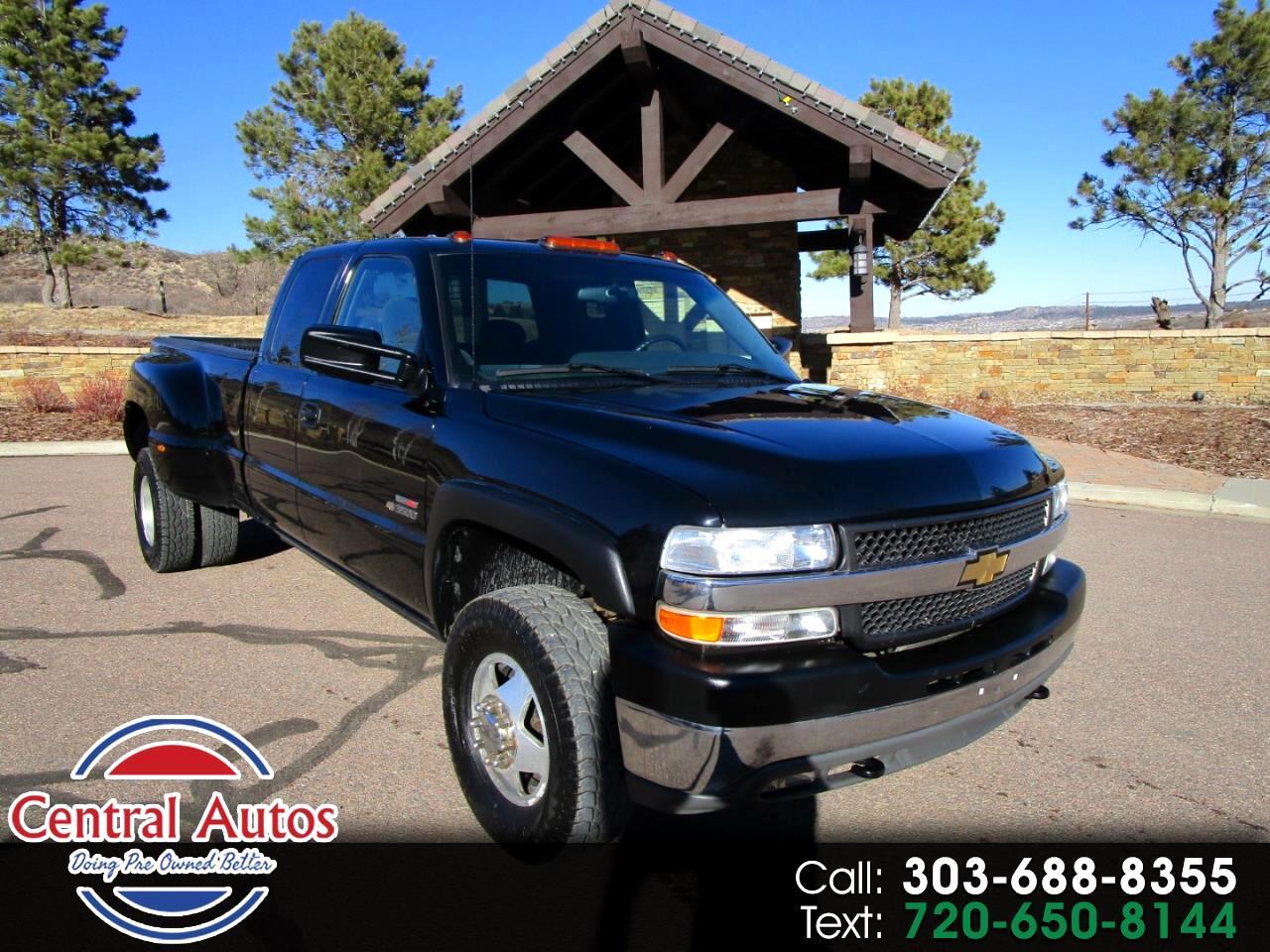 2001 Chevrolet Silverado 3500 Ext Cab 157.5