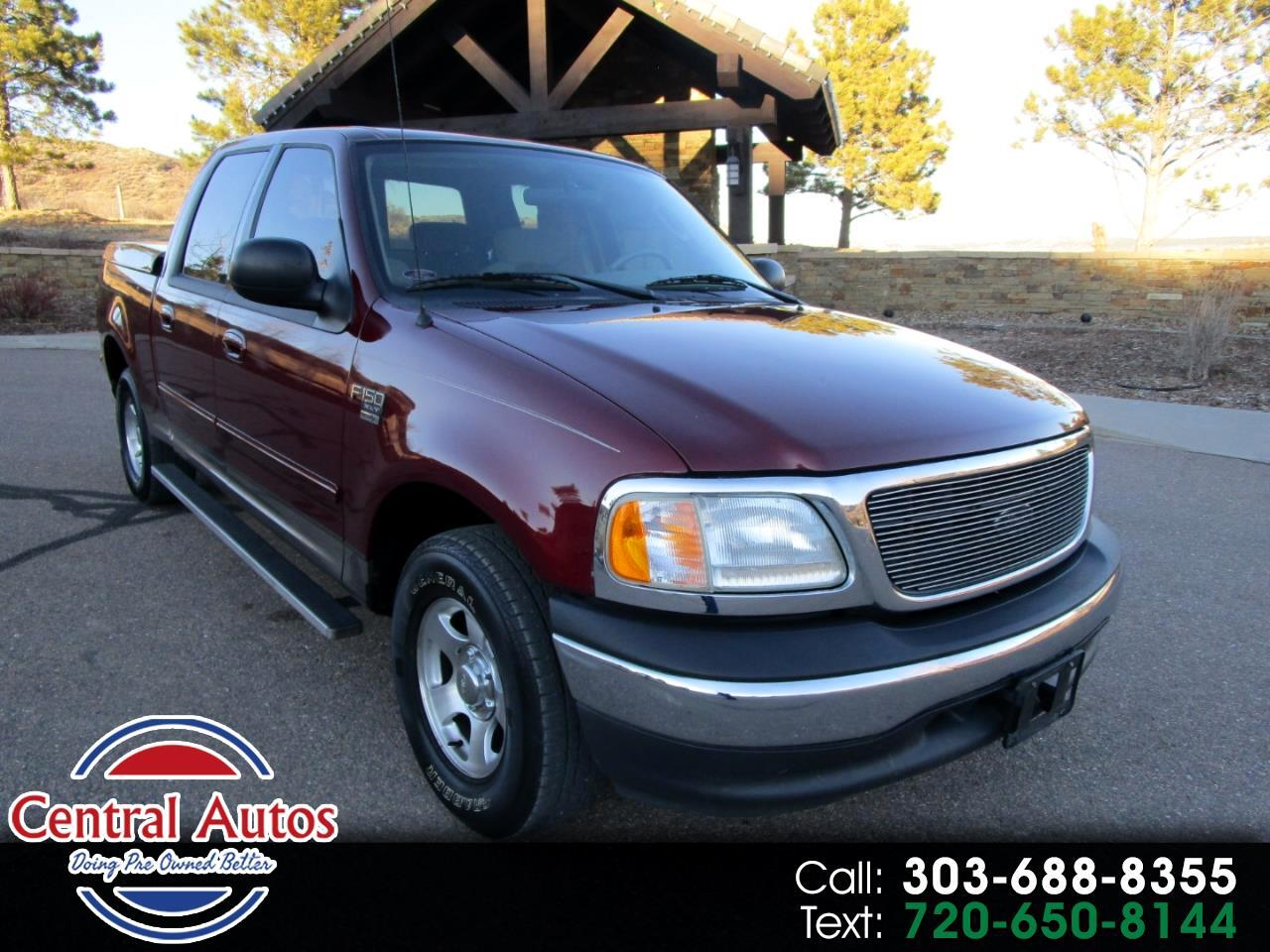 "2003 Ford F-150 2WD SuperCrew 139"" XLT"