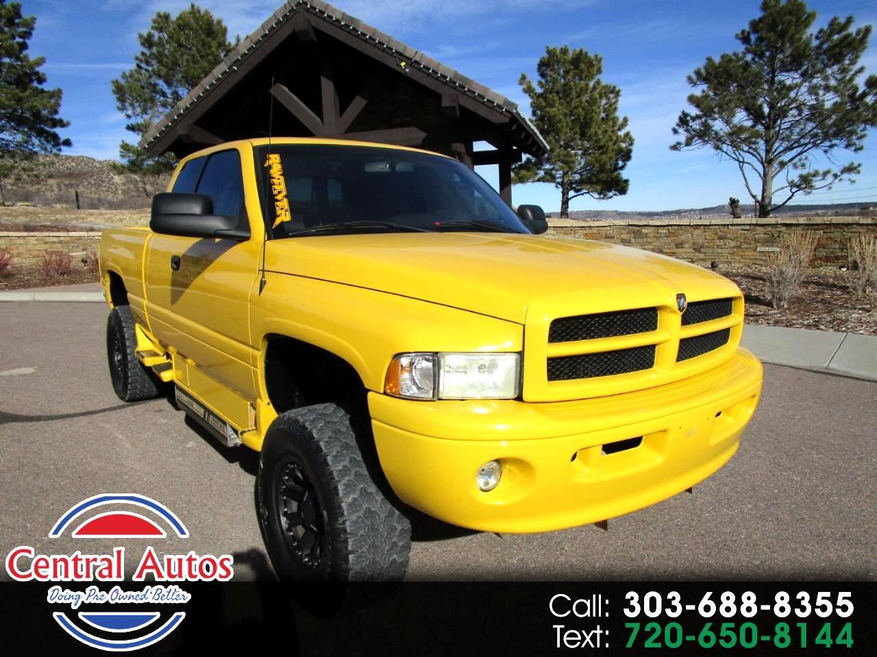 "2000 Dodge Ram 1500 4dr Quad Cab 139"" WB 4WD"