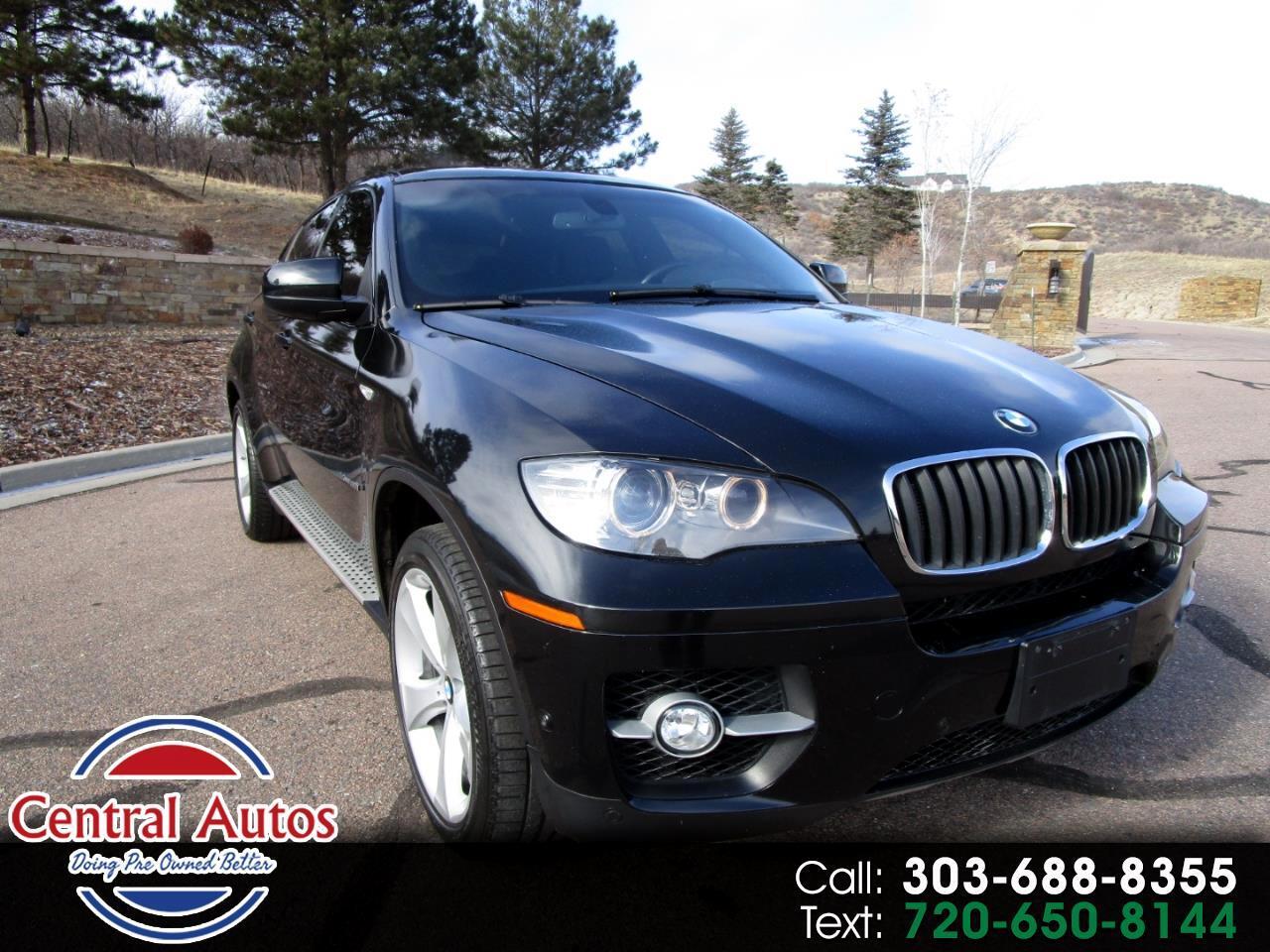 2011 BMW X6 AWD 4dr 50i