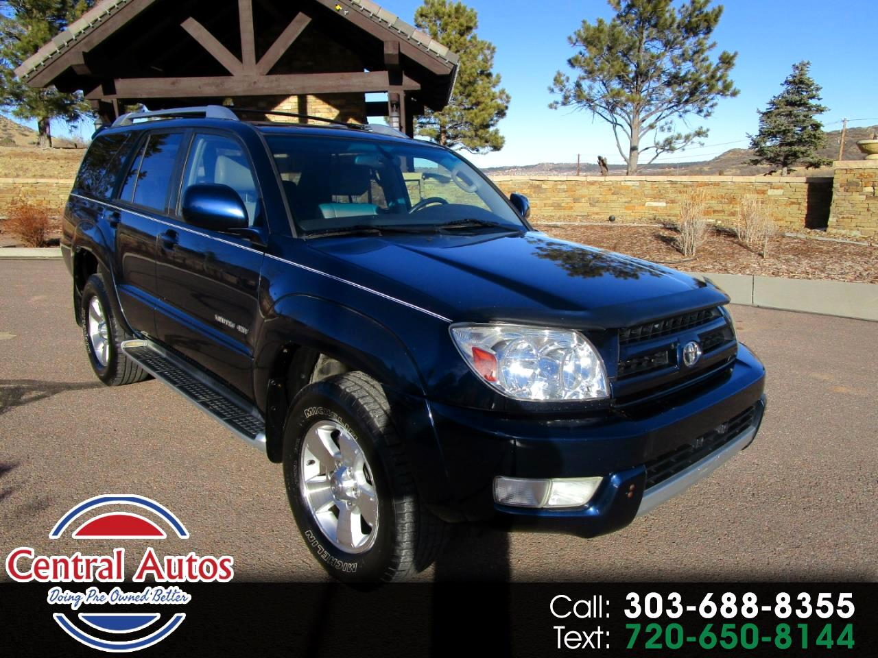 2003 Toyota 4Runner 4dr Limited V6 Auto 4WD (Natl)