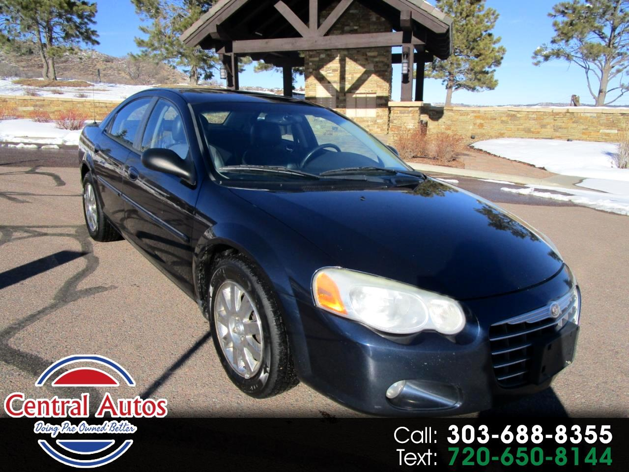 2004 Chrysler Sebring 2004.5 4dr Sdn Limited