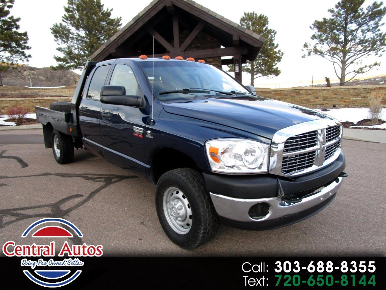 "2007 Dodge Ram 3500 4WD Quad Cab 60"" CA 163.5"" WB"