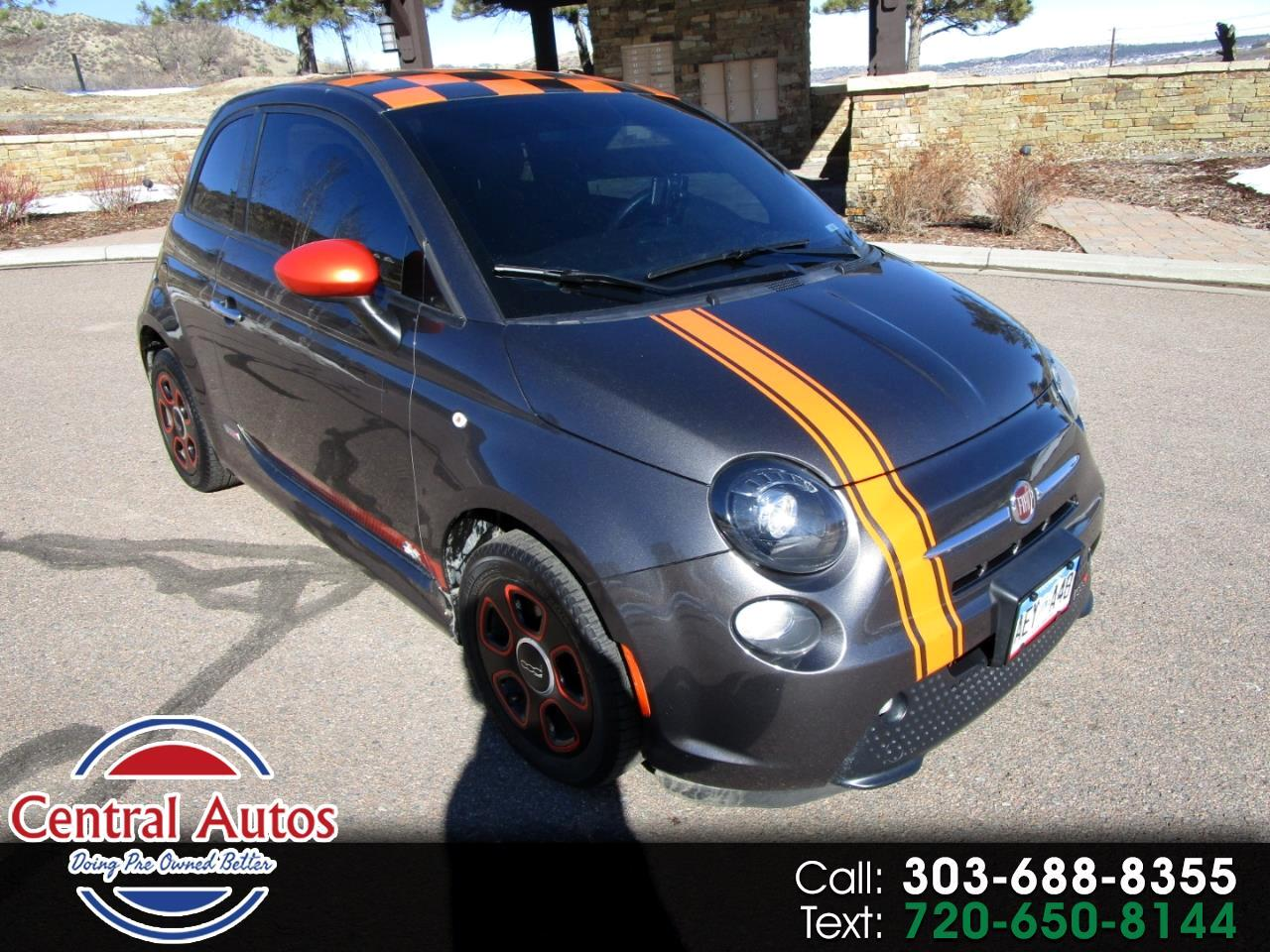 2014 Fiat 500e 2dr HB BATTERY ELECTRIC