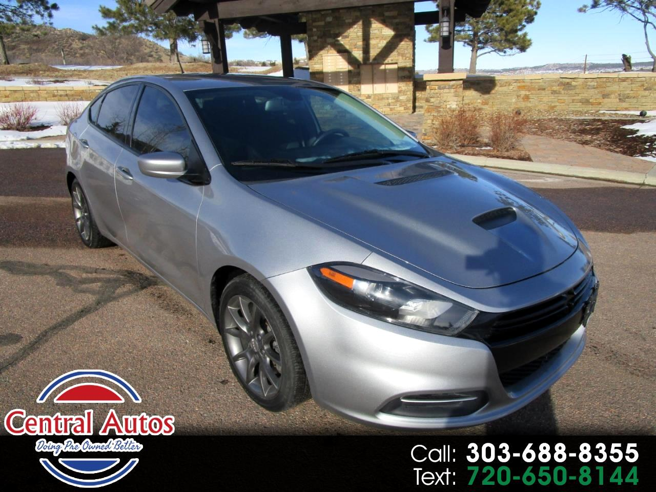 2016 Dodge Dart 4dr Sdn Turbo