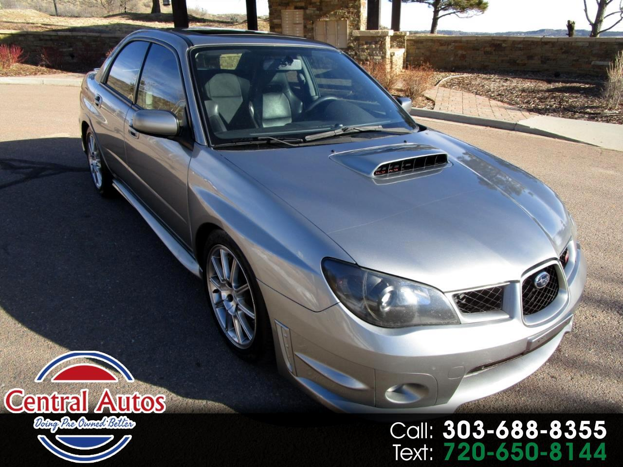 2007 Subaru Impreza Sedan 4dr H4 Turbo WRX STI Ltd