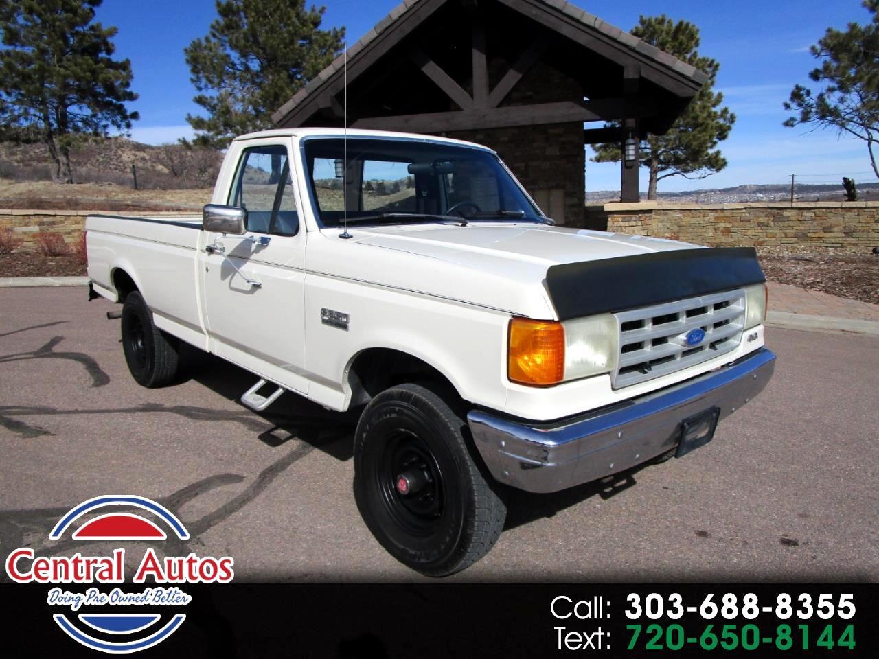 1989 Ford 3/4 Ton Trucks HD Styleside 133