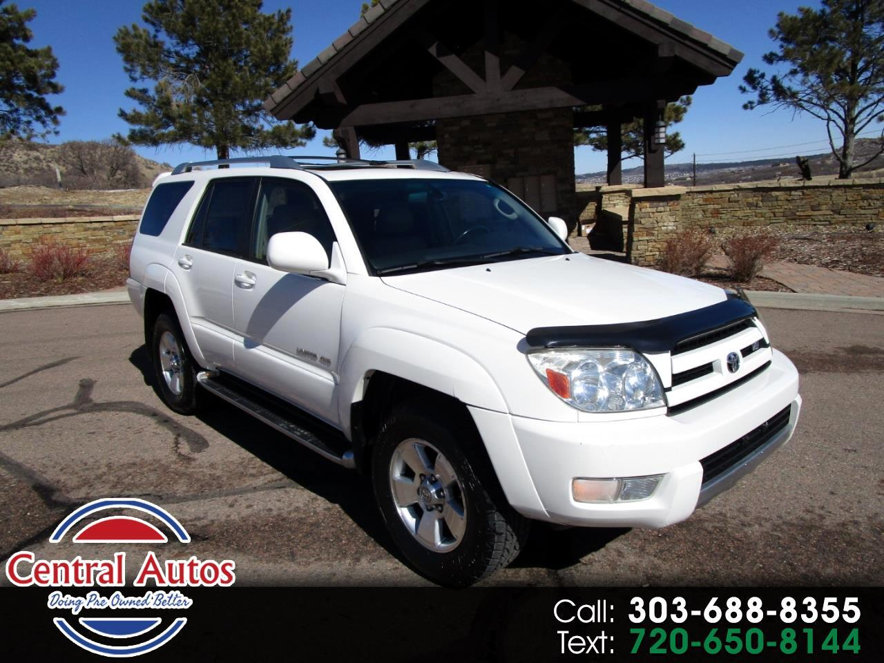 2004 Toyota 4Runner 4dr Limited V8 Auto 4WD (Natl)