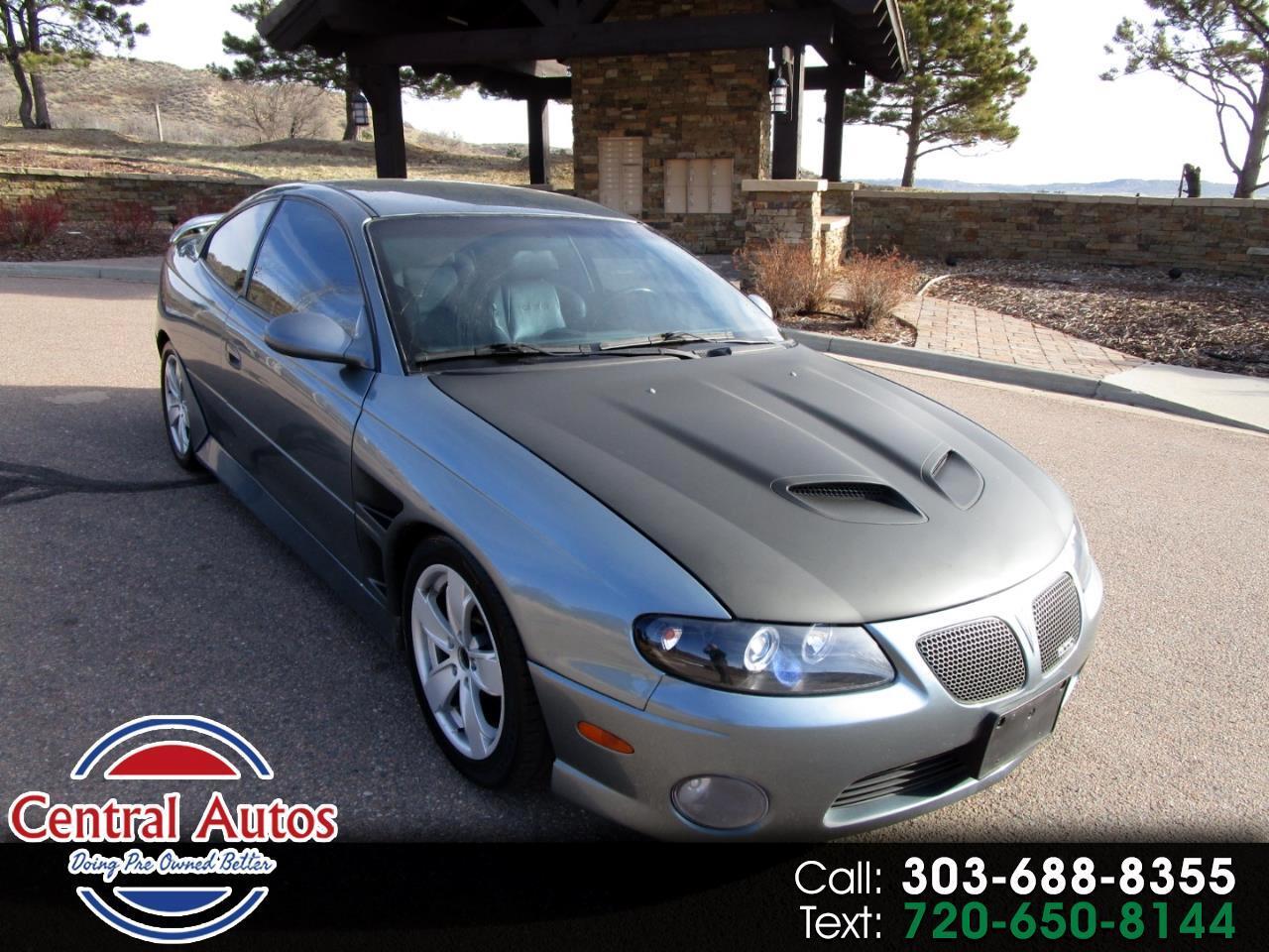 2006 Pontiac GTO 2dr Cpe
