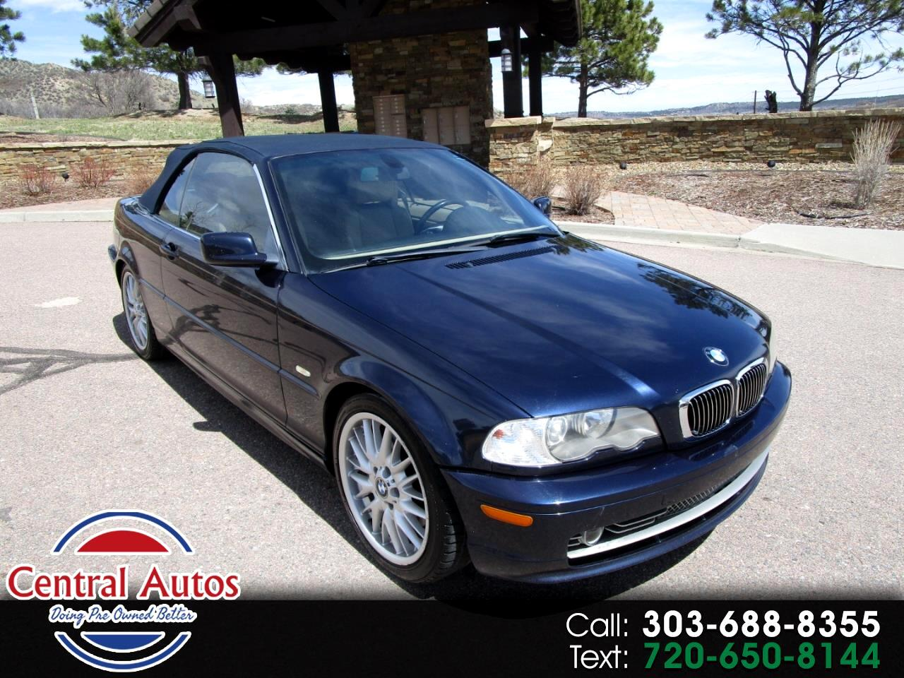 2002 BMW 3 Series 330Ci 2dr Convertible
