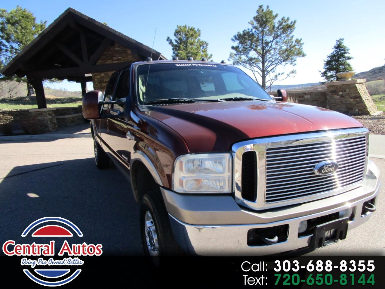 "2005 Ford Super Duty F-350 SRW Crew Cab 156"" King Ranch 4WD"