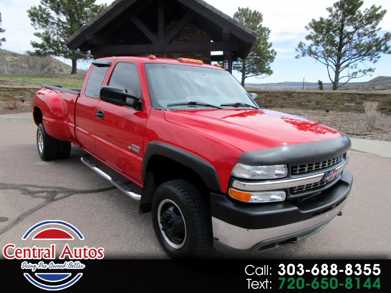 """2001 Chevrolet Silverado 3500 Ext Cab 157.5"""" WB DRW LS"""
