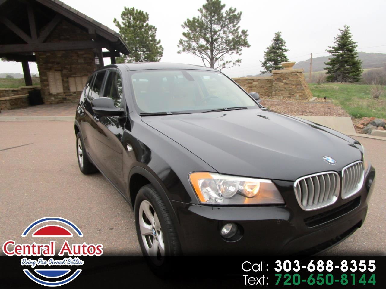 2011 BMW X3 AWD 4dr 28i