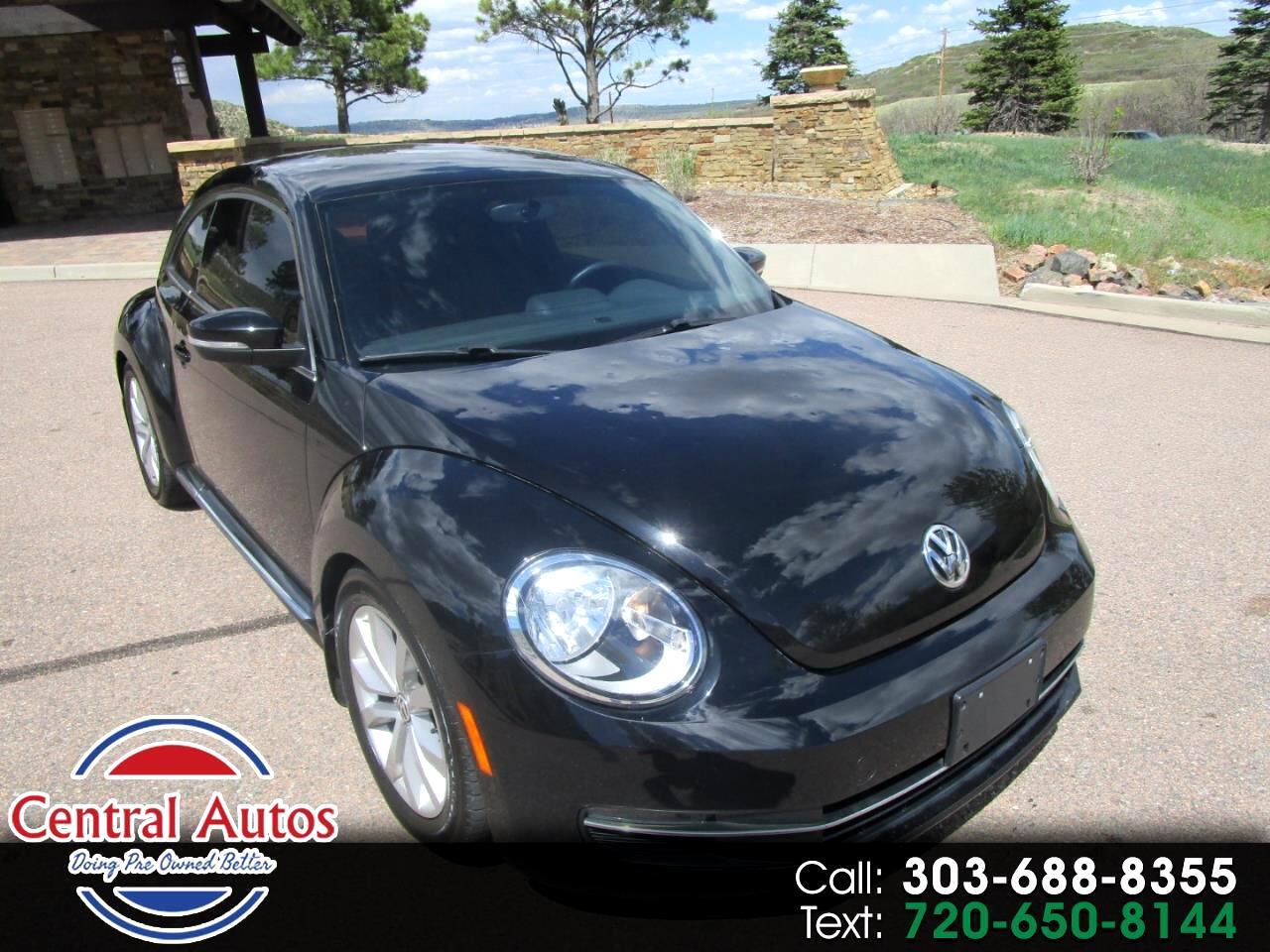 2014 Volkswagen Beetle Coupe 2dr Man 2.0L TDI