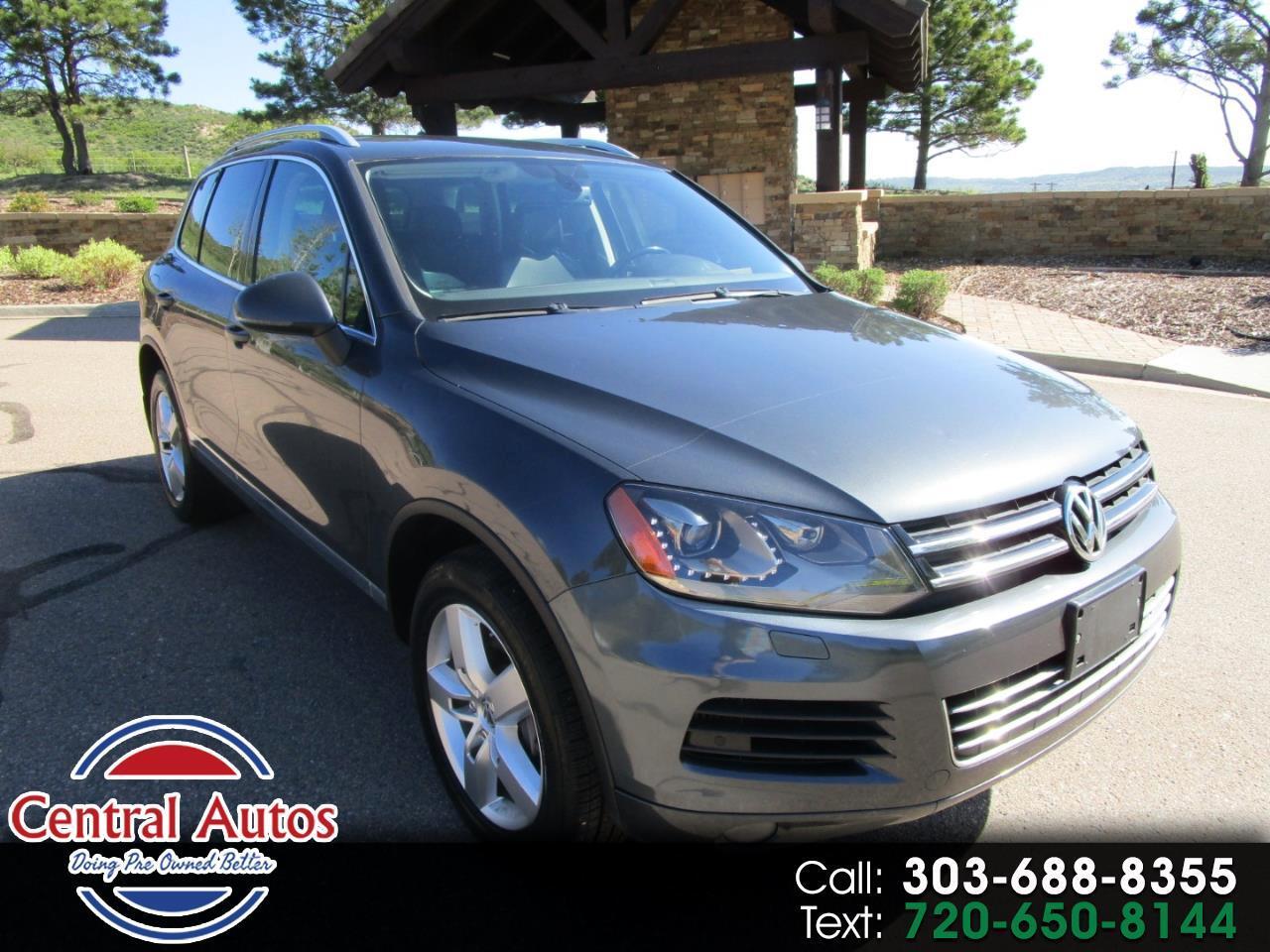 2012 Volkswagen Touareg 4dr TDI Sport w/Nav *Ltd Avail*