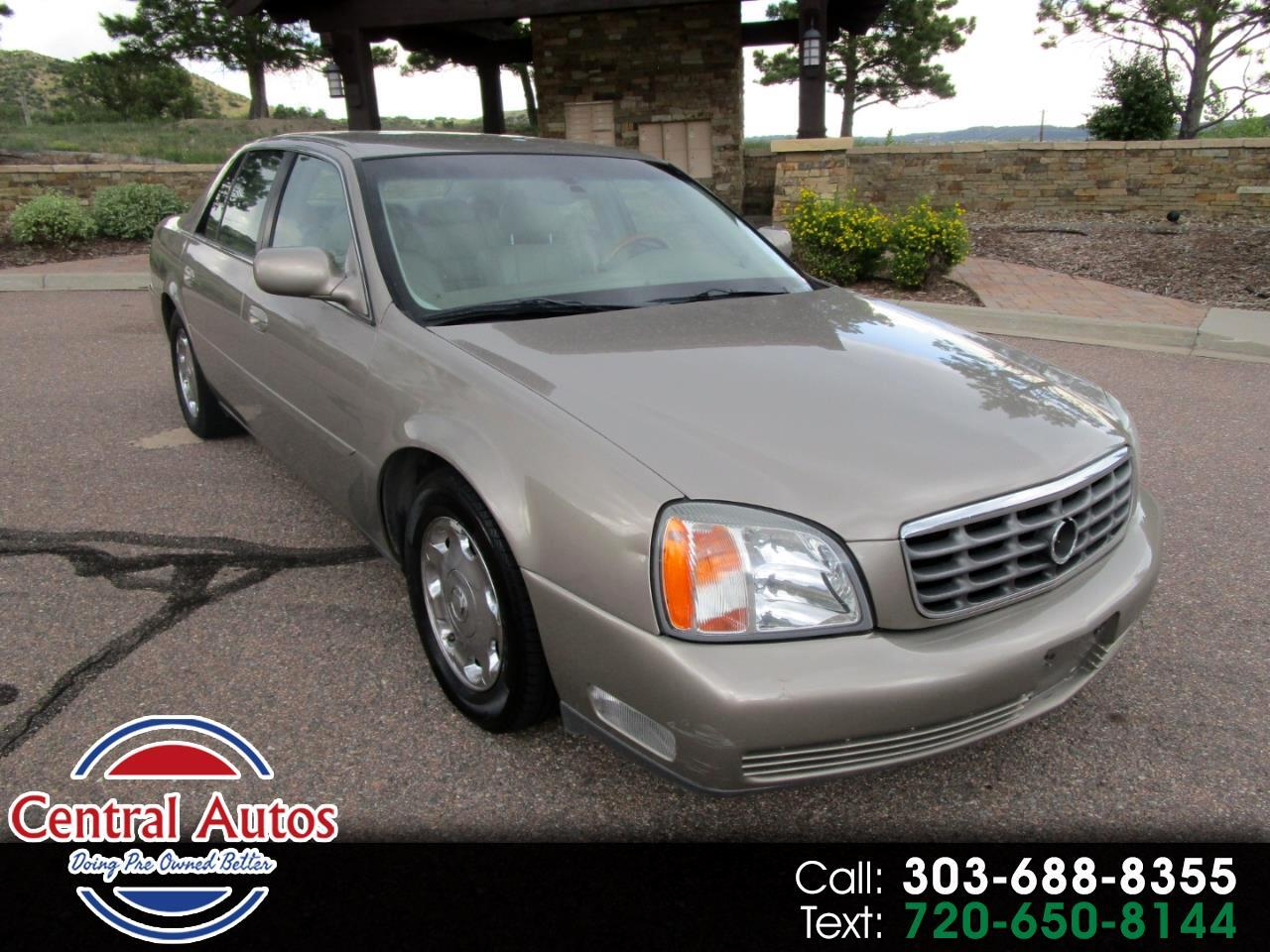2002 Cadillac DeVille 4dr Sdn DHS
