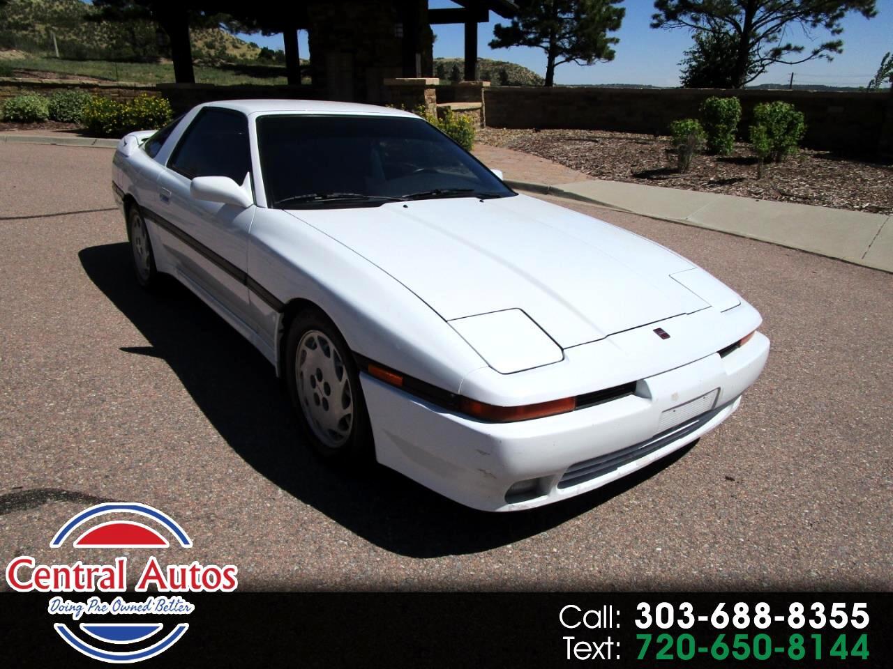 1990 Toyota Supra 3dr Liftback Auto ECT Turbo Sport