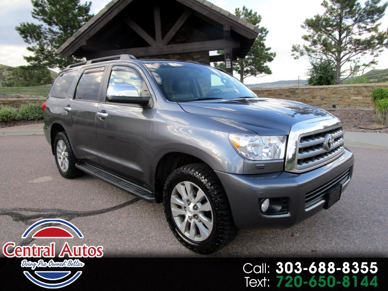 2014 Toyota Sequoia 4WD 5.7L FFV Limited (Natl)